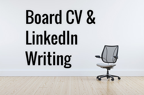 Linkedin CV for NED board membership
