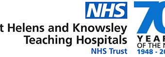 St Helens NHS UK Logo