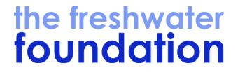 The fresh water foundation logo