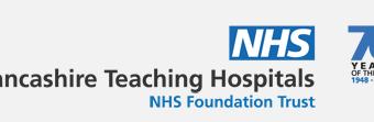 NHS Lancashire Teaching Hospital Logo
