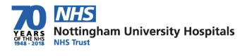 NHS NUH Logo
