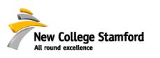 New College Stamford Logo