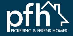 Pickering& Ferens Homes Logo