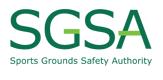 Sports Grounds Safety Authority Logo