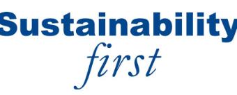 Sustainability First Logo