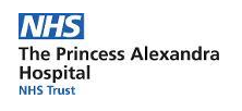 NHS The Princess Alexandra Hospital Trust Logo
