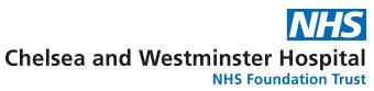 NHS Chelsea & Westminister Hospital Logo