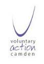 Voluntary Action Camden Logo