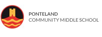Ponteland Community Middle School Logo
