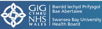NHS Wales Swansea Bay Logo
