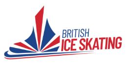 British Ice Skating Logo