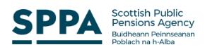 Scottish Public Pensions Agency Logo