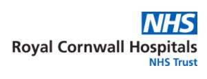 NHS Royal Cornwell Hospitals Logo